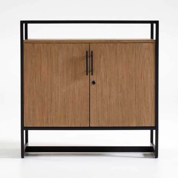 Lemoine Small Bar Cabinet - Crate and Barrel