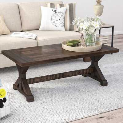 Kirchner Trestle Coffee Table - Wayfair