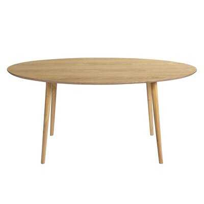 6/8 Seater Solid Sheesham Oval Dining Table W62.5' - Wayfair