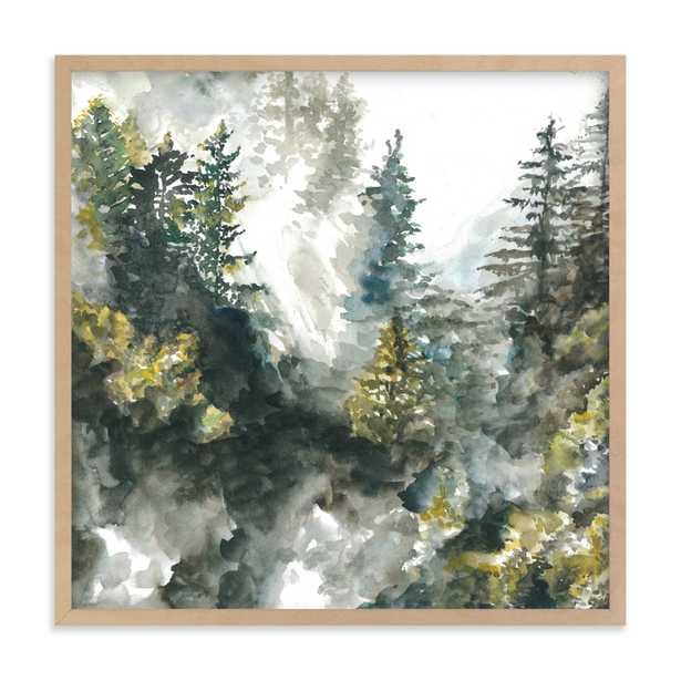 Forest Mist Children's Art Print - Minted