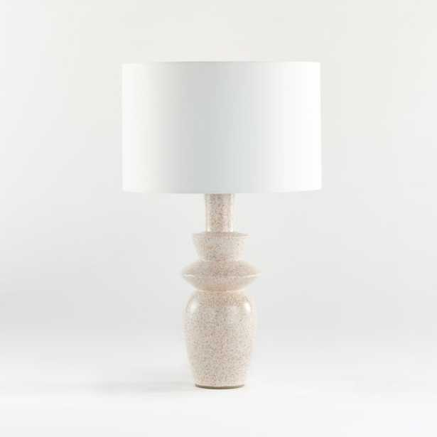 Alina Table Lamp with White Varena Shade - Crate and Barrel