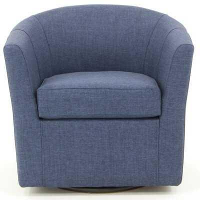 Molinari Swivel Barrel Chair - Wayfair