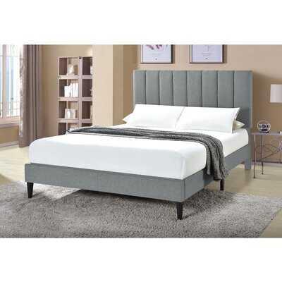 Almaraz Channeled Upholstered Platform Bed - Wayfair