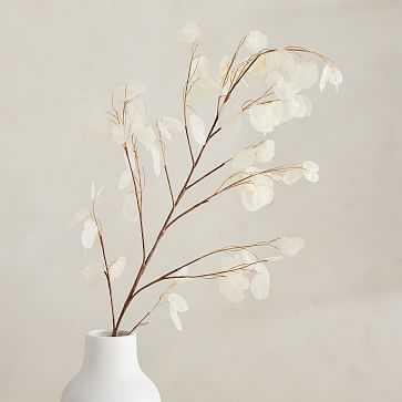"""Faux Lunaria Branch, 44"""" - West Elm"""