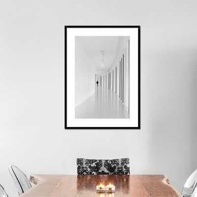 'Black Strips' by Joao Castro Framed Photographic Print - AllModern