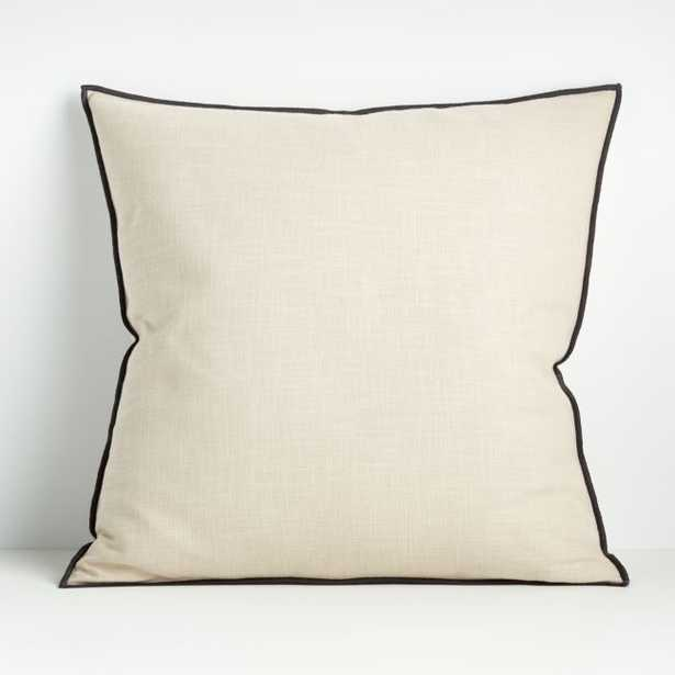 """Ori Moonbeam 23"""" Pillow with Down-Alternative Insert - Crate and Barrel"""