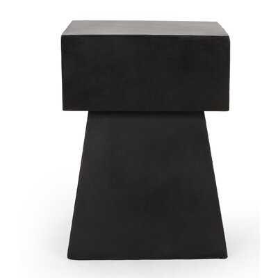 Arizona Concrete Side Table - Wayfair