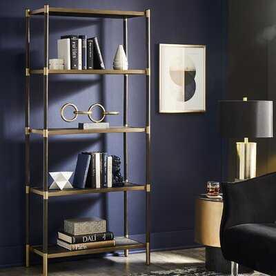 Beckham Etagere Bookcase - Wayfair