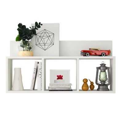 Mcneil 4 Piece Square Cubby Shelf - Wayfair