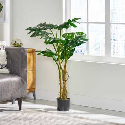 Artificial Monstera Tree in Pot - Wayfair