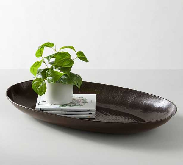 Metal Charger Tray, Oblong - Pottery Barn