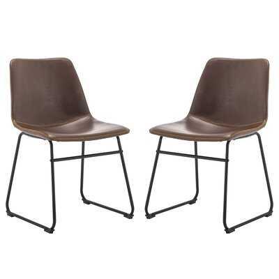 Alviina Upholstered Side Chair (set of 2) - Wayfair