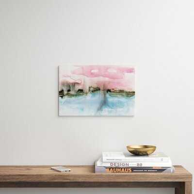 Coastline by Albina Bratcheva - Wrapped Canvas Print - AllModern