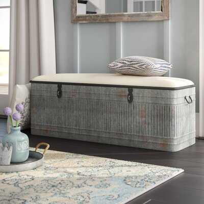 Dublin Upholstered Storage Bench - Wayfair