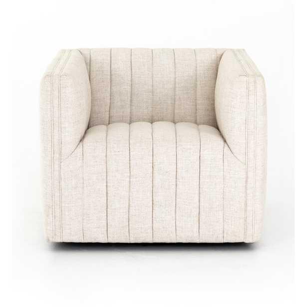 "Elosie 32"" W Polyester Blend Swivel Armchair - Dover Crescent - Perigold"