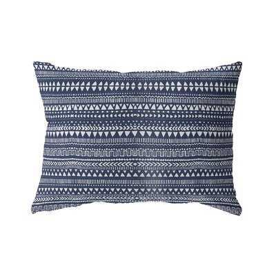 Minerva Cotton Indoor/Outdoor Geometric Lumbar Pillow - Wayfair