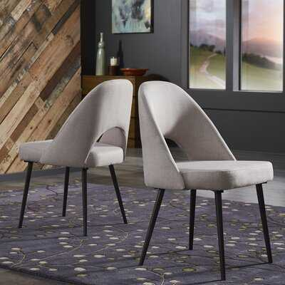 Widner Upholstered Dining Chair (set of 2) - Wayfair