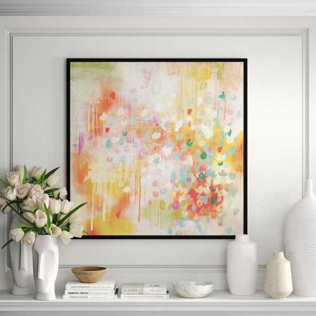 JBass Grand Gallery Collection 'Colorful I Love You' - Painting Print on Canvas - Perigold