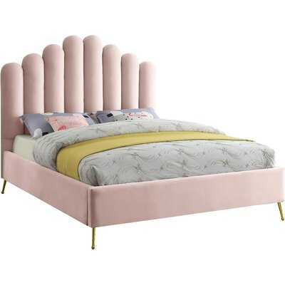 Sonette Upholstered Flatform Bed - Wayfair