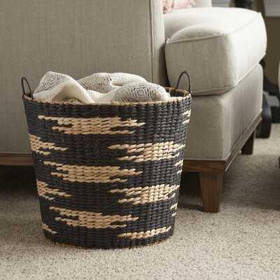 Tapered Decorative Wicker Basket - Wayfair