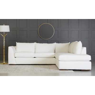 "Deolinda 115"" Sofa & Chaise - Wayfair"