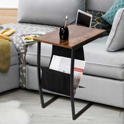 Holladay C Table End Table with Storage - Wayfair