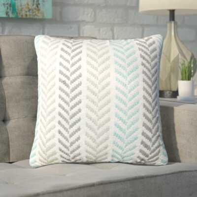 Mcpherson Square Cotton Chevron Throw Pillow - Wayfair