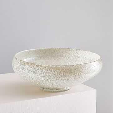 Jade Colored Glass Vases, Bowl, Champagne - West Elm