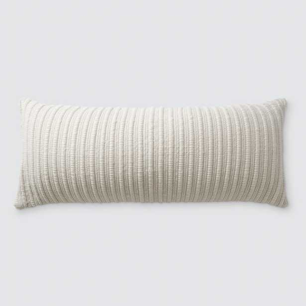 La Duna Lumbar Pillow - 12'' x 30'' By The Citizenry - The Citizenry