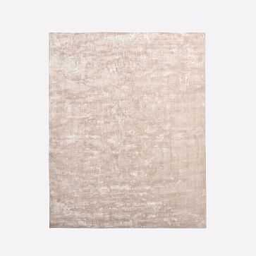 Lucent Rug, 6x9, Dusty Blush - West Elm