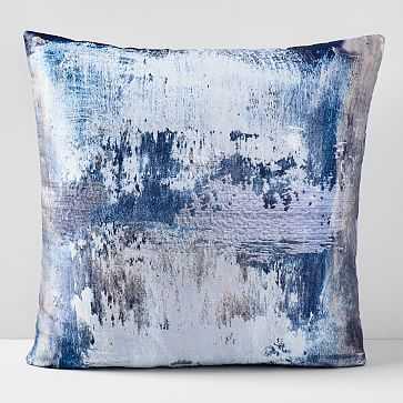"""Abstract Haze Brocade Pillow Case, 20""""x20"""" - West Elm"""