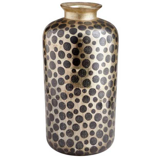 Cyan Design Sunray Plain Table Vase Color: Gold/White - Perigold