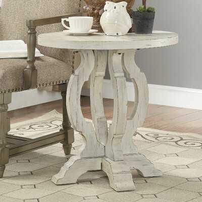 Francesca Pedestal End Table - Birch Lane