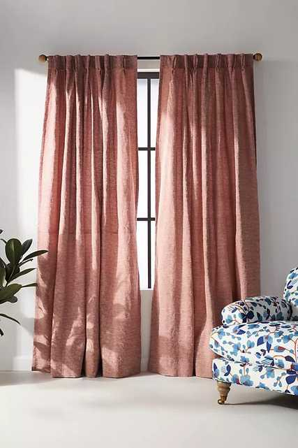 Alaina Curtain By Anthropologie in Purple Size 50X84 - Anthropologie