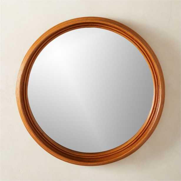 """Rota Round Mirror 36"""" - CB2"""