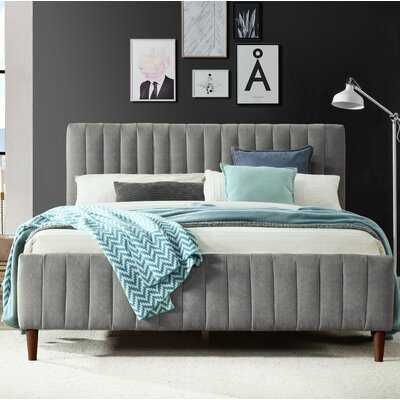 Currin Queen Upholstered Platform Bed - Wayfair