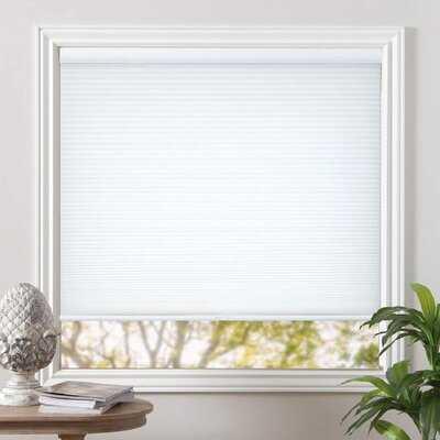 Cordless Light Filtering Blinds Cellular Fabric Shades Honeycomb Door Window Shades - Wayfair