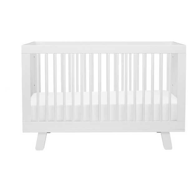 Hudson 3-in-1 Convertible Crib- white - Perigold