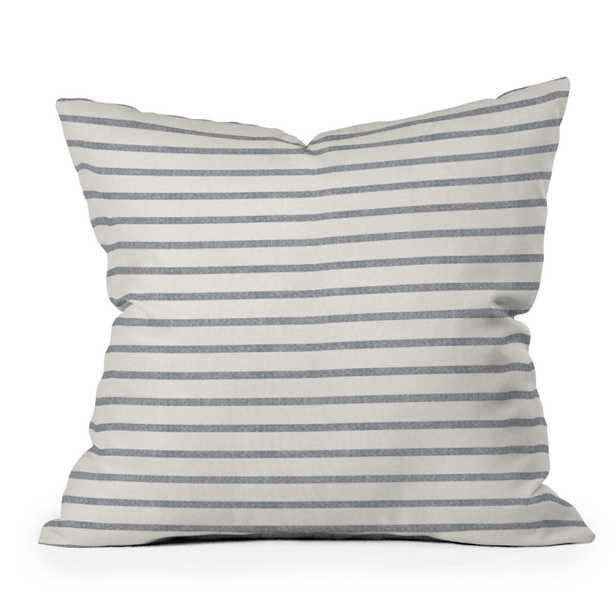 "Dhurban Stripe by Holli Zollinger - Outdoor Throw Pillow 18"" x 18"" - Wander Print Co."