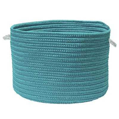 Colorful Braided Toy Polypropylene Basket - Wayfair