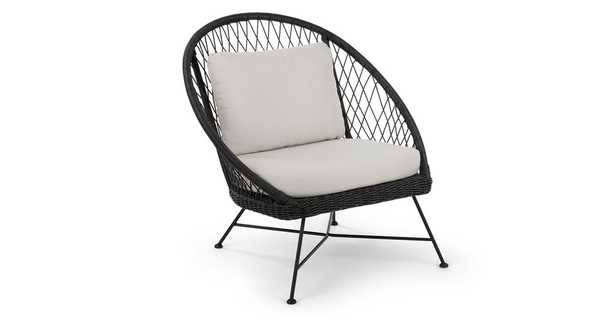 Aeri Lily White Lounge Chair - Article