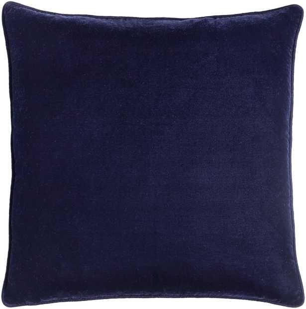 """Velvet Glam - VGM-003 - 20""""W x 20""""L - pillow cover only - Neva Home"""