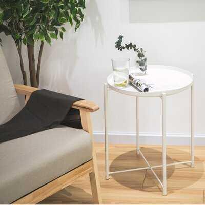 Gerdineke Tray Top End Table - Wayfair