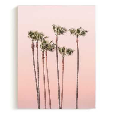 Minted(R) Seven Palmtrees Canvas,18x24 - Pottery Barn Teen