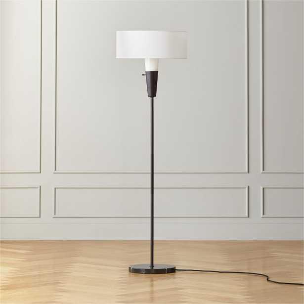 Exposior Silver Shade Drum Floor Lamp Model 2001 - CB2
