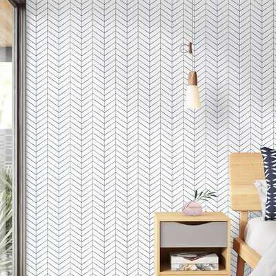 """Ameesha 33' L x 20.5"""" W Wallpaper Roll - AllModern"""