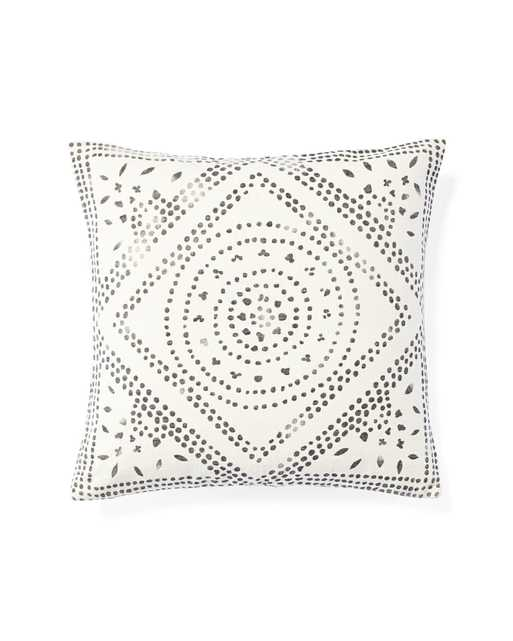 Camille Diamond Medallion Pillow Cover - Serena and Lily