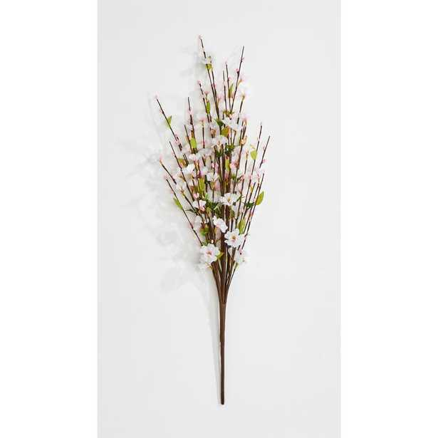WORTH IMPORTS 27 in Cherry Blossom Bush with Pip Berries For Buds - Home Depot