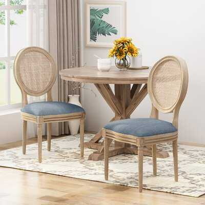 Evelina Solid Wood Dining Chair - Birch Lane