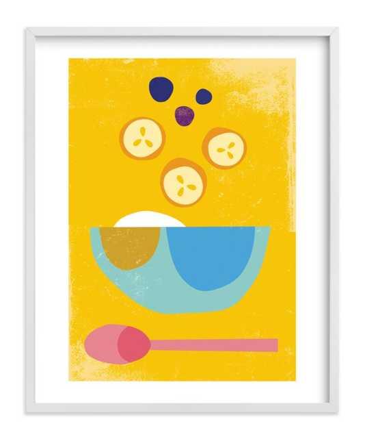Breakfast Bowl Art Print - Minted